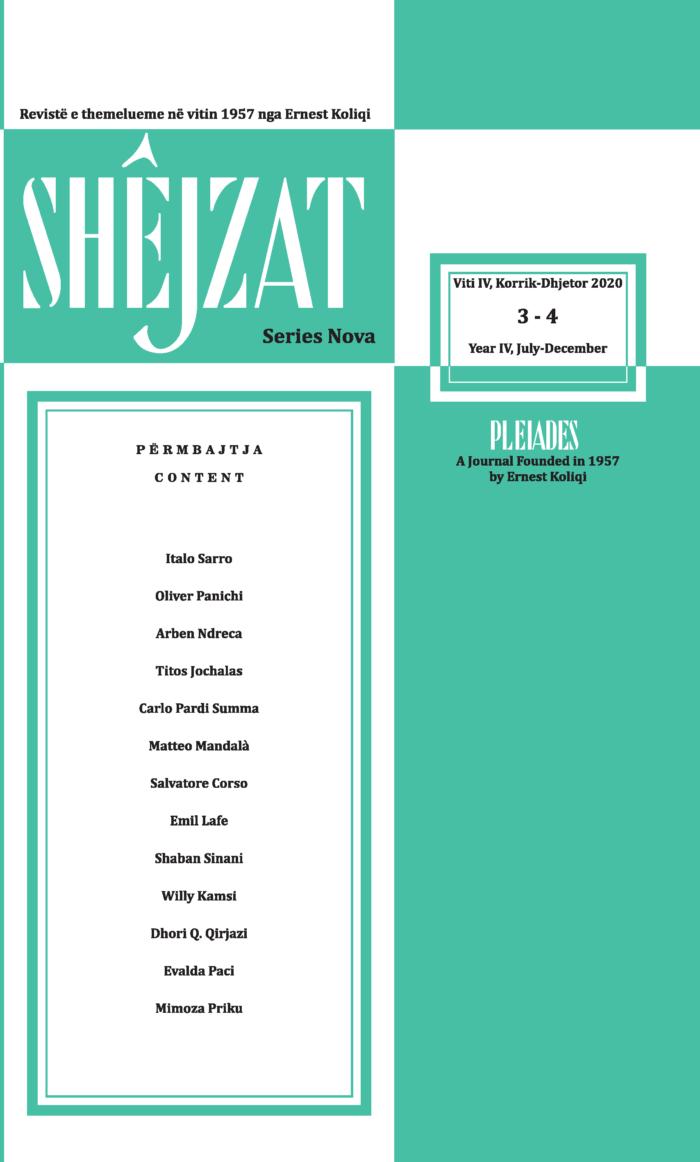 Shejzat Pleiades 2020, 3 - 4